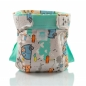 Mobile Preview: Culla di Tebi diaper pant BIO Globetrotter