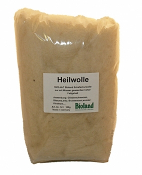 Bioland Fat wool (100% new wool) 50g