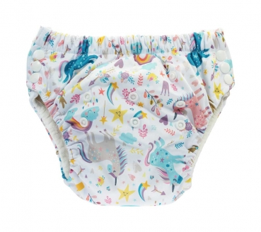 Blümchen training pant bamboo (3-5 Years) Fantasy