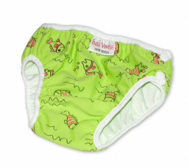 ImseVimse swim diaper fish green