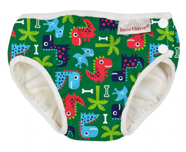 ImseVimse swim diaper Dino green