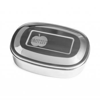 Brotzeit lunchbox/ storage box Stainless steel duo