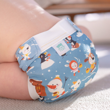 Culla di Tebi diaper pant BIO hot chocolate