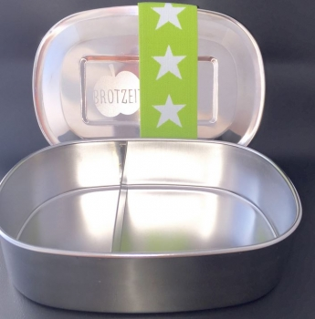 Brotzeit lunchbox Stainless steel duo