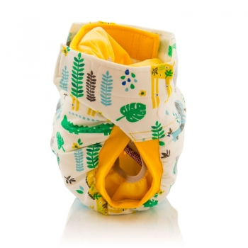 Culla di Tebi diaper pant BIO jungle