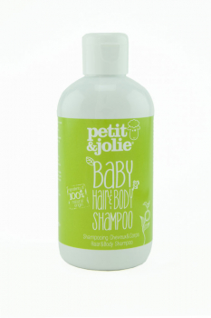 Petit et Jolie Baby hair and body shampoo 200ml