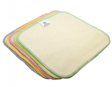 Blümchen cleaning wipes Organic Cotton Flannel 10 pcs.