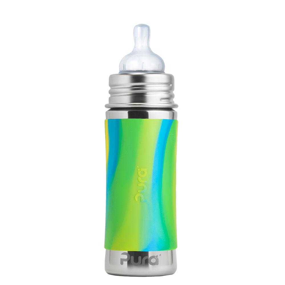 91db8a3d6 Stoffwindelcompany - Purakikki Stainless steel Baby bottle 300ml