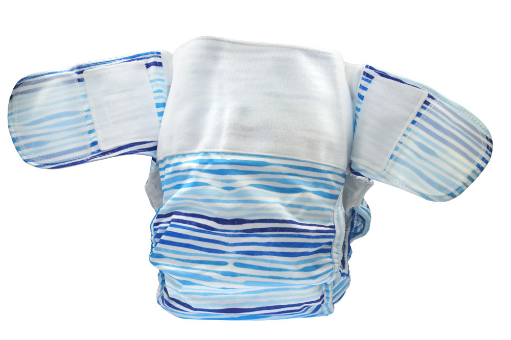 Blümchen Adult/ Junior diaper Zebra