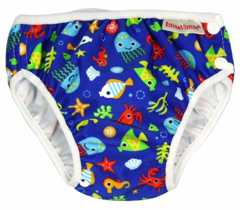 ImseVimse swim diaper Blue Sea Life