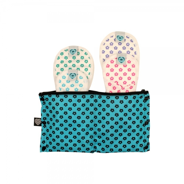 Bloom and Nora pantyliner wetbag PUL Out and About