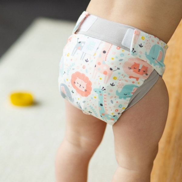 Culla di Tebi diaper pant BIO Pink Jungle