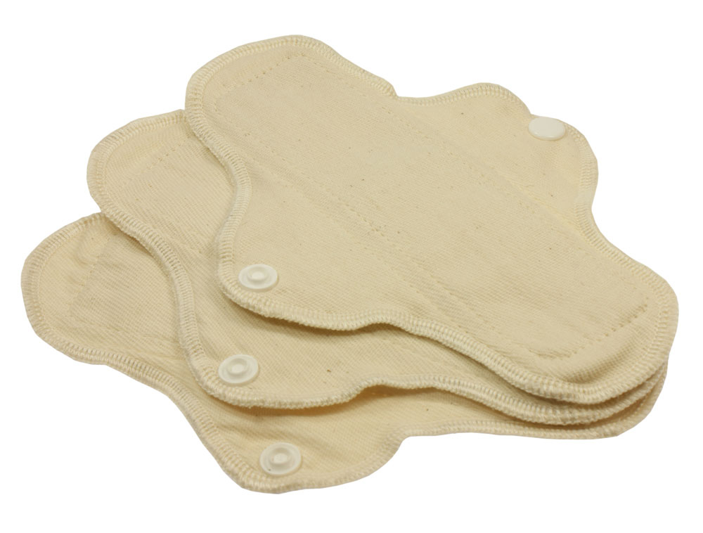 Blümchen waterproof panty liner Organic Cotton Twill 3pcs.