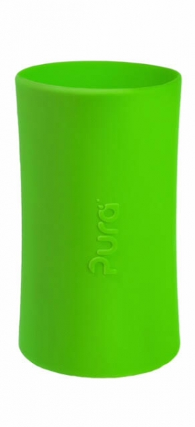 Purakiki Silicone sleeve for 325ml infant bottle/ 250ml insulated infant bottle used