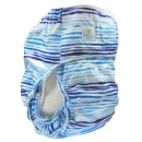 Blümchen Adult/ Junior diaper Blue Waves