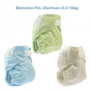 Blümchen diaper cover OneSize (3,5-16kg) Hook and Loop solid colour