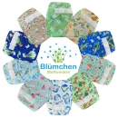 Blümchen V2 Pocket nappy Velcro watercolor collection