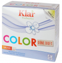 KLAR detergent Colour 1,375kg without bleach unscented